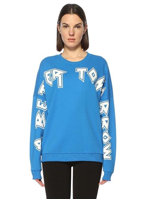 Gestuz Sweatshirt Mavi